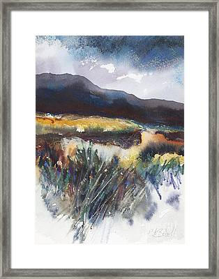 Connemara Coast I Framed Print by Kate Bedell