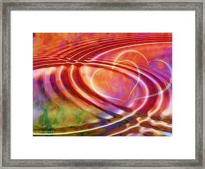 Connexion Framed Print by Ann Croon
