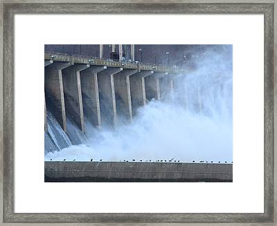Conowingo Dam  Framed Print