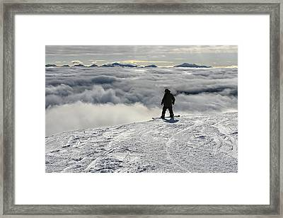 Conquer Your Fears Framed Print by Bernard Chen