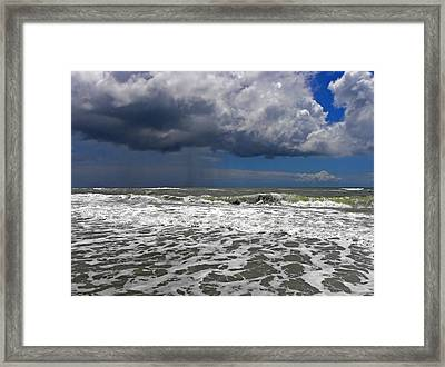 Conquering The Storm Framed Print by Sandi OReilly