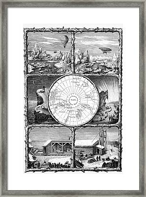 Conquest Of The North Pole Framed Print