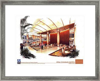 Conrad Hotel Dubai Framed Print by Jack Adams