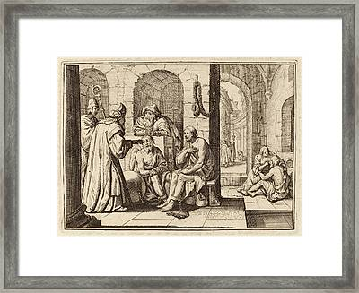 Conrad Meyer, Consolation Of The Imprisoned Framed Print by Quint Lox