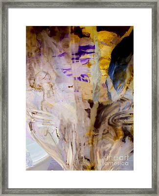 Conscience Illusion Framed Print