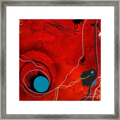 Consciousness Of The Inanimate Framed Print by Paul Davenport