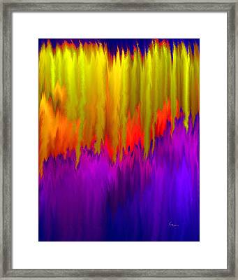 Framed Print featuring the mixed media Consciousness Rising by Carl Hunter