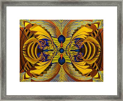 Consciousness Storage Device Framed Print by Maxwell Hanson