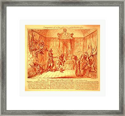 Consequences Of A Successful French Invasion Framed Print