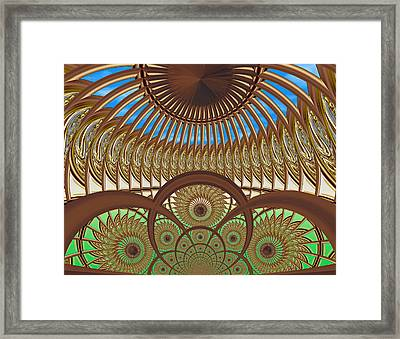 Conservatory - Earth And Sky Framed Print