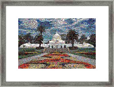 Conservatory Of Flowers Framed Print by Wernher Krutein