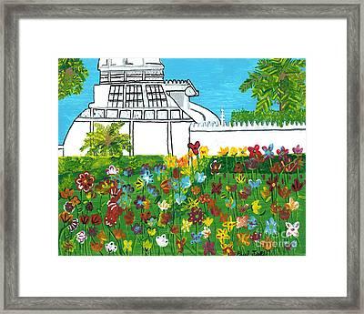 Conservatory Framed Print
