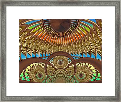 Conservatory - Sunset Framed Print by Wendy J St Christopher