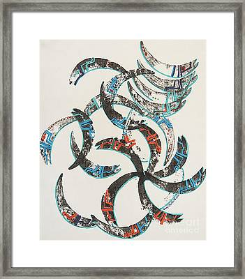 Consider The Salmon Framed Print