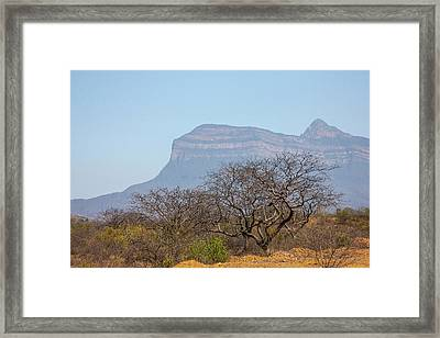 Considered To Be A Sacred Site Framed Print