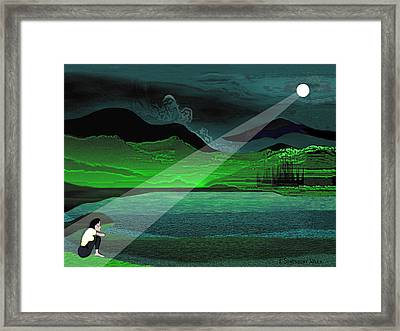 Consolation - 695 Framed Print by Irmgard Schoendorf Welch