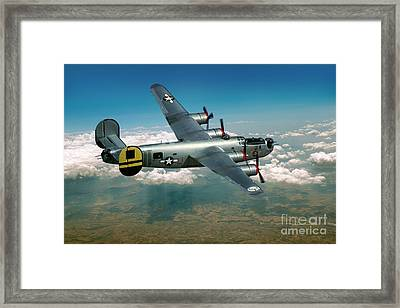 Consolidated B-24 Liberator Framed Print