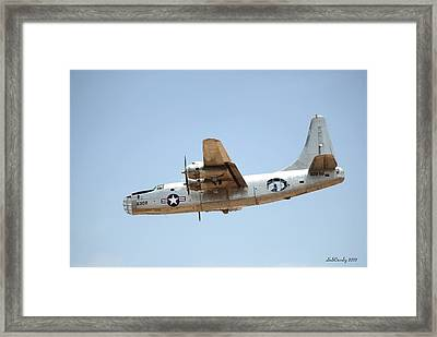 Consolidated Pb4y-2 Privateer  Framed Print