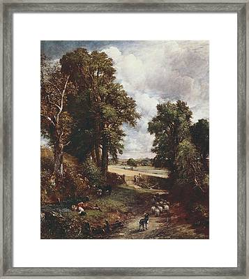 Constable, John 1776-1837. The Framed Print