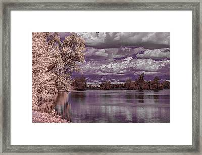 Constant Change Framed Print by Marta Cavazos-Hernandez