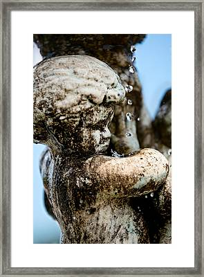 Constant Drip Framed Print by Christopher Holmes
