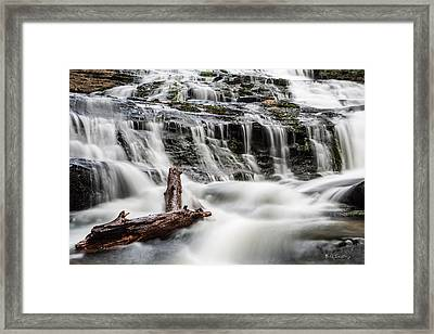 Constant Flow Framed Print by Bill Cantey