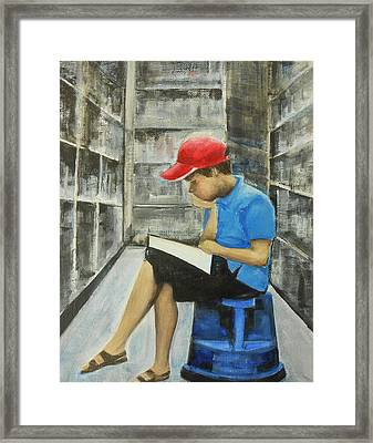 Constant Never-ending Improvement Framed Print by Jane See