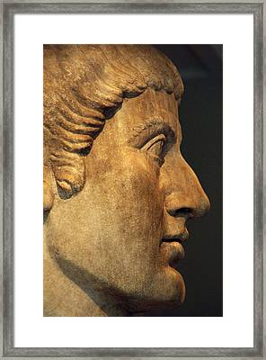 Constantine I, The Great 272-337. Roman Emperor Framed Print by Bridgeman Images