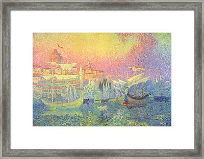Constantinople Framed Print by Henri Person