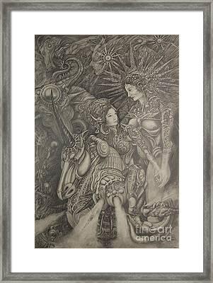 Constelacion Framed Print by Ignacio Bernacer Alpera