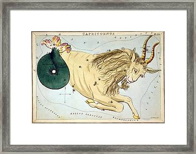 Constellation: Capricorn Framed Print by Granger