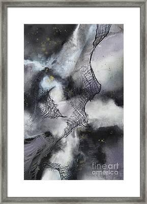 Constellation Framed Print by Deborah Ronglien