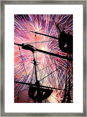 Framed Print featuring the photograph Constellation Fourth by Mike Flynn