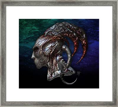 Constellation Mask Framed Print