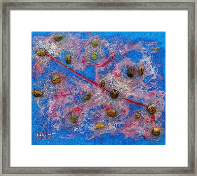 Constellation Of Aries Framed Print by Augusta Stylianou