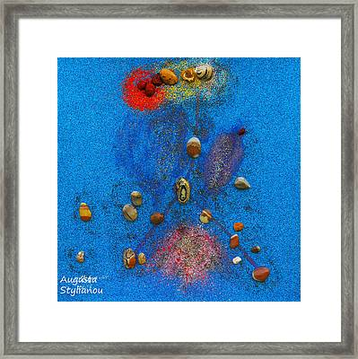 Constellation Of Cancer Framed Print by Augusta Stylianou