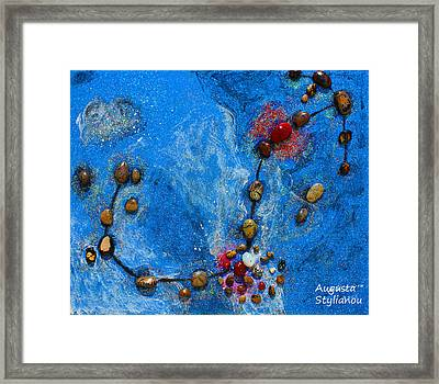 Constellation Of Scorpio Framed Print by Augusta Stylianou