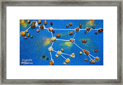 Constellation Of Ursa Major Framed Print by Augusta Stylianou