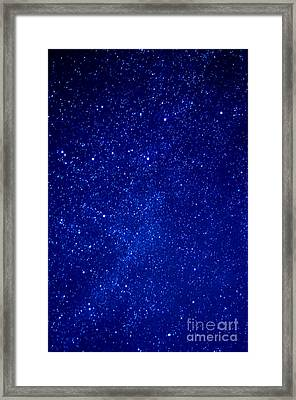 Constellation Cassiopeia  Framed Print by Thomas R Fletcher