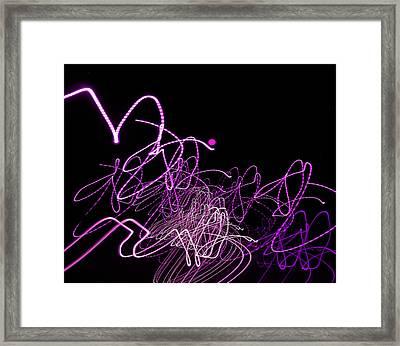 Consternation 3 Framed Print by Lynda Lehmann
