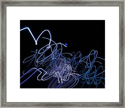Consternation 4 Framed Print by Lynda Lehmann