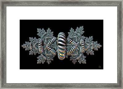 Constraints - A Fractal Artifact Framed Print