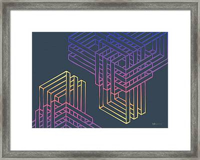 Construct Number One Framed Print by Serge Averbukh