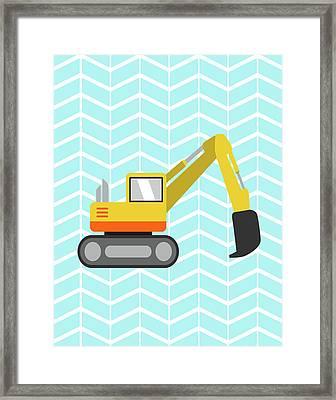 Construction Iv Framed Print