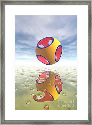 Constructive Solid Geometry Csg Framed Print by Carol and Mike Werner