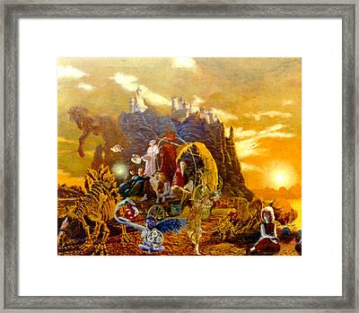 Constructors Of Time Framed Print by Henryk Gorecki