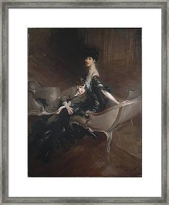 Consuelo Vanderbilt 1876-1964, Duchess Framed Print