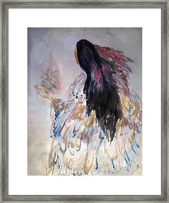 Consulting Spirits Framed Print by Paula Kelly