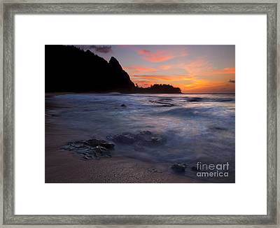 Consumed Framed Print by Mike  Dawson