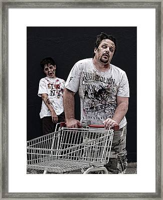 Consumers Framed Print